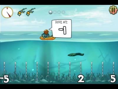 Screenshot of Pearl Diver