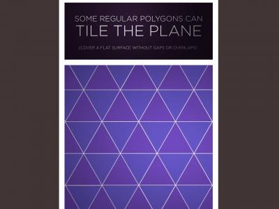 Screenshot of Some Regular Polygons Can Tile The Plane