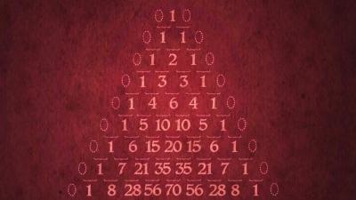 Screenshot of The mathematical secrets of Pascal's triangle - Wajdi Mohamed Ratemi