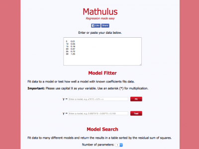 Screenshot of Mathulus