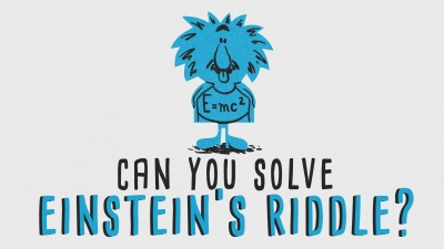 "Screenshot of Can you solve ""Einstein's Riddle""? - Dan Van der Vieren"