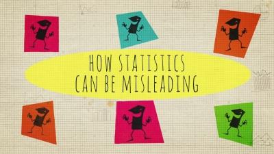 Screenshot of How statistics can be misleading - Mark Liddell