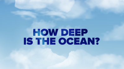Screenshot of How deep is the ocean?