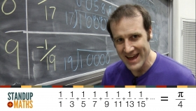 Screenshot of Calculating π by hand