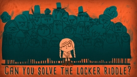 Screenshot of Can you solve the locker riddle? - Lisa Winer