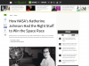 Screenshot of How NASA's Katherine Johnson Had the Right Stuff to Win the Space Race