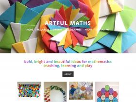 Screenshot of Artful Maths