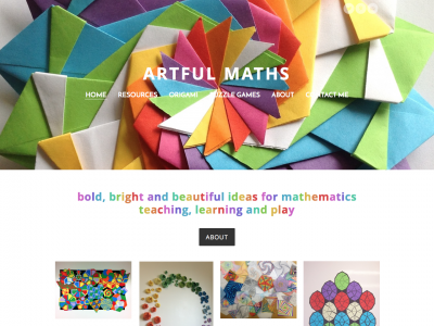 Screenshot of Artful Maths