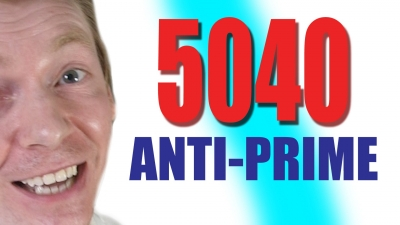 Screenshot of 5040 and other Anti-Prime Numbers - Numberphile