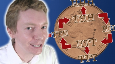 Screenshot of Penney's Game - Numberphile