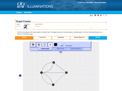 Screenshot of Graph Creator