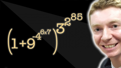 Screenshot of Incredible Formula - Numberphile