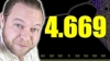 Screenshot of Why 4.669 is famous? - Numberphile