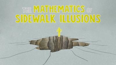 Screenshot of The mathematics of sidewalk illusions - Fumiko Futamura