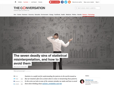Screenshot of The seven deadly sins of statistical misinterpretation, and how to avoid them