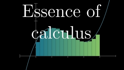 Screenshot of Essence of calculus, chapter 1