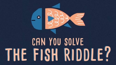 Screenshot of Can you solve the fish riddle?
