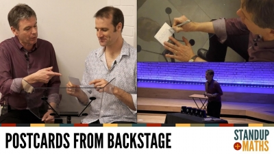 Screenshot of Postcards from backstage: Rob and the Anti-Monty-Hall Problem