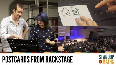 Screenshot of Postcards from backstage: Katie and Semi-Eulerian Graphs