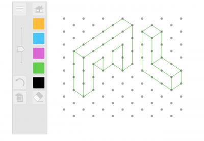 Screenshot of Isometric Drawing