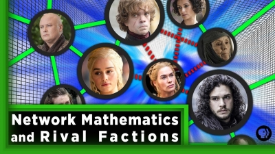 Screenshot of Network Mathematics and Rival Factions