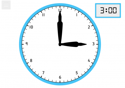 Screenshot of Clock