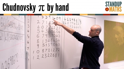 Screenshot of Calculating π by hand: the Chudnovsky algorithm
