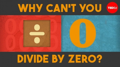 Screenshot of Why can't you divide by zero?