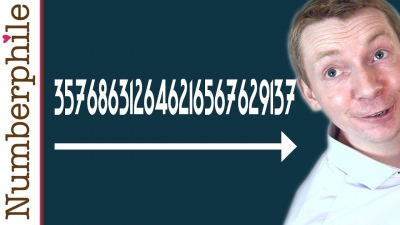 Screenshot of 357686312646216567629137 - Numberphile