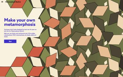 Screenshot of Make your own metamorphosis