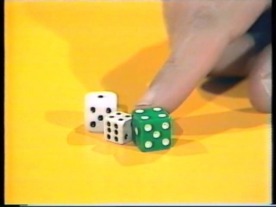 Screenshot of Dice solitaire