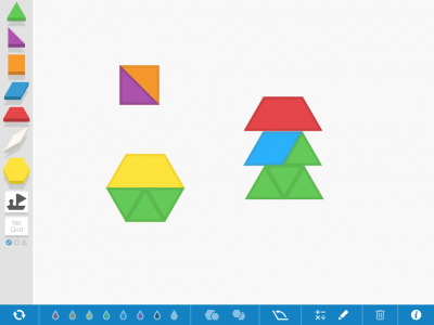 Screenshot of Pattern Shapes
