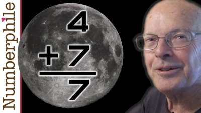 Screenshot of Primes on the Moon (Lunar Arithmetic) - Numberphile